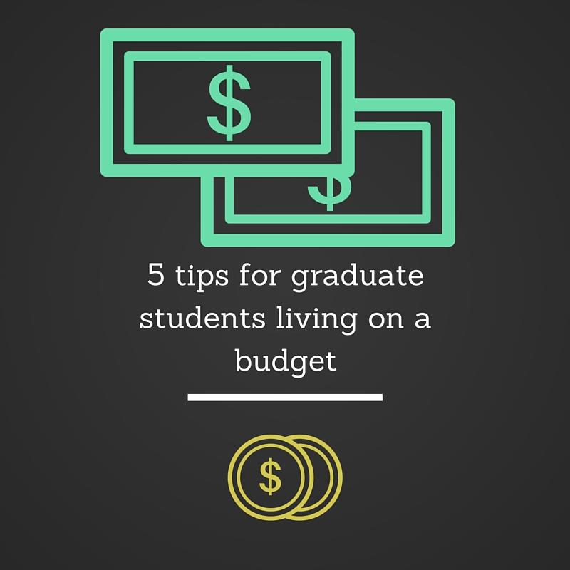 Institute, Graduate Student, Living, Budget